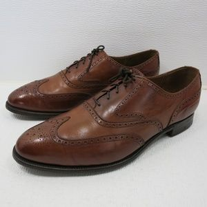Cole Haan Benchmade Brogue Leather Oxfords 11.5